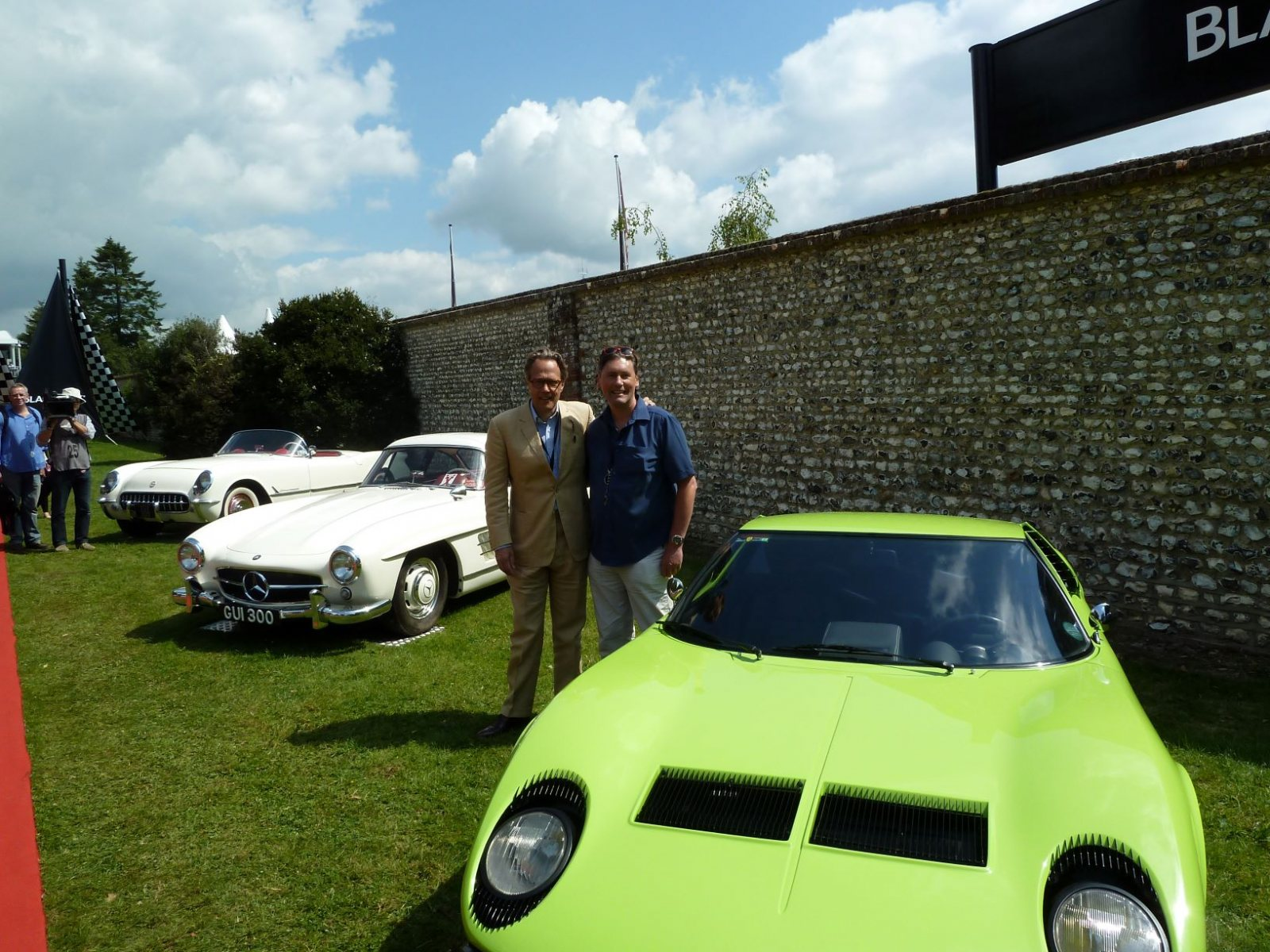 The-Duke-of-Richmond-with-Iain-Tyrrell-and-a-Miura