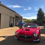 Iain with Ferrari 250GT SWB