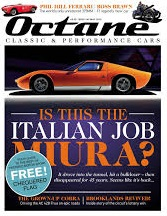 Octane Magazine Cover The italian Job Miura