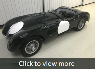 Jaguar C-Type homage