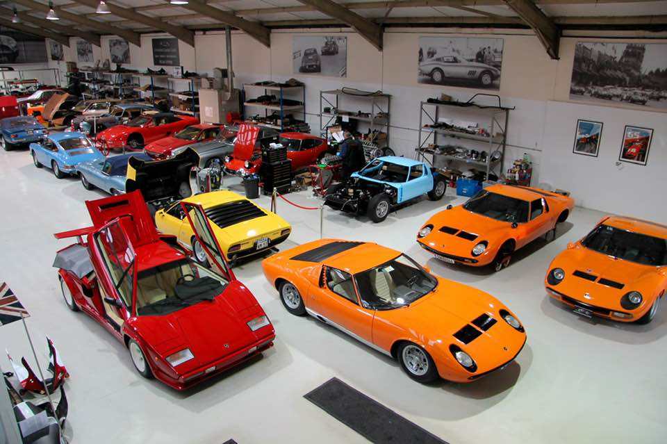A view of Iain Tyrrell's workshop