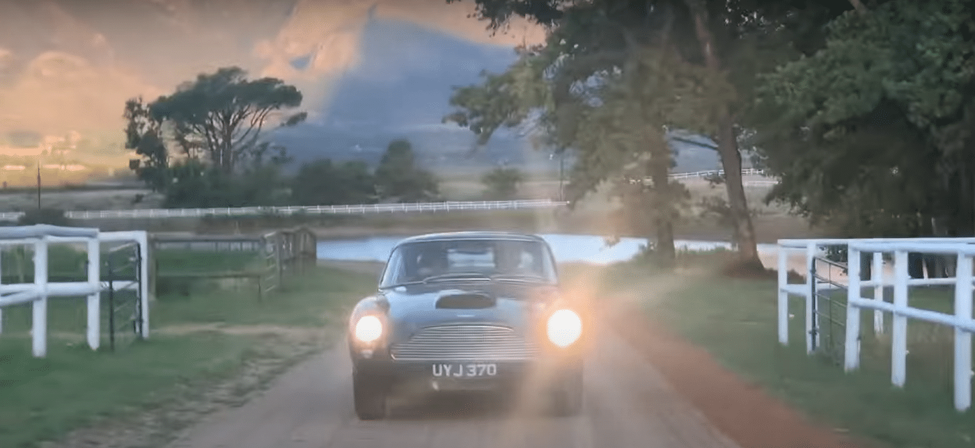 Aston Martin DB4GT Superleggera in South Africa with Iain Tyrrell